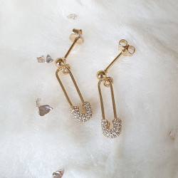 Boucles d'oreilles Epingle