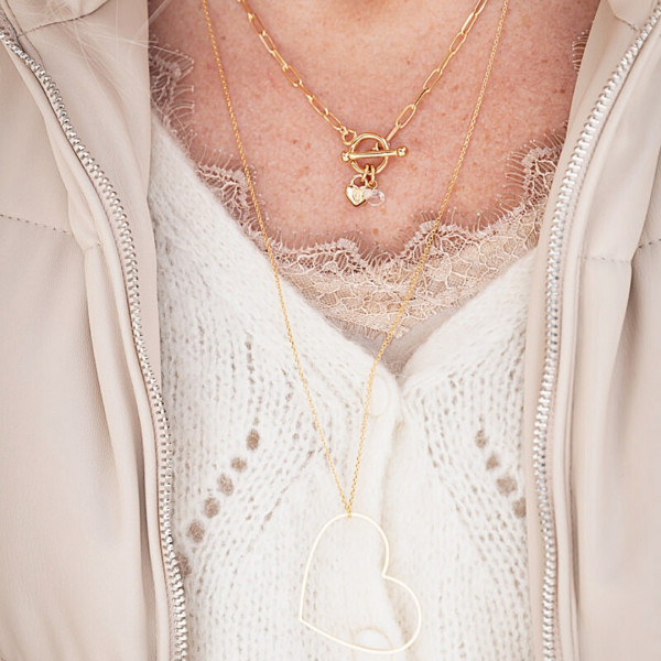 Collier Charly doré