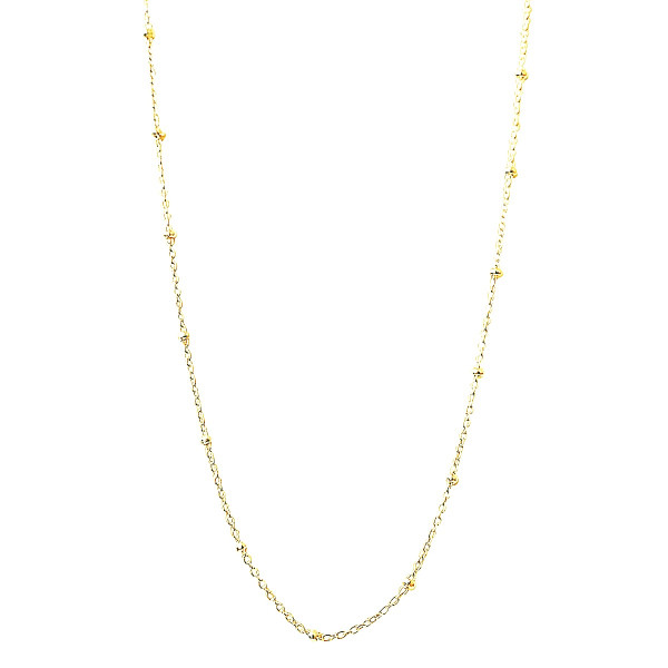 Collier Minis Boules Femme Or