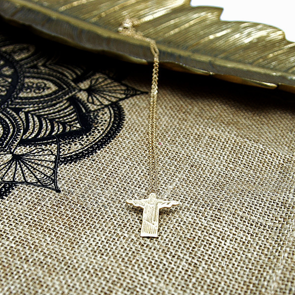 COLLIER CORCOVADO ARGENT